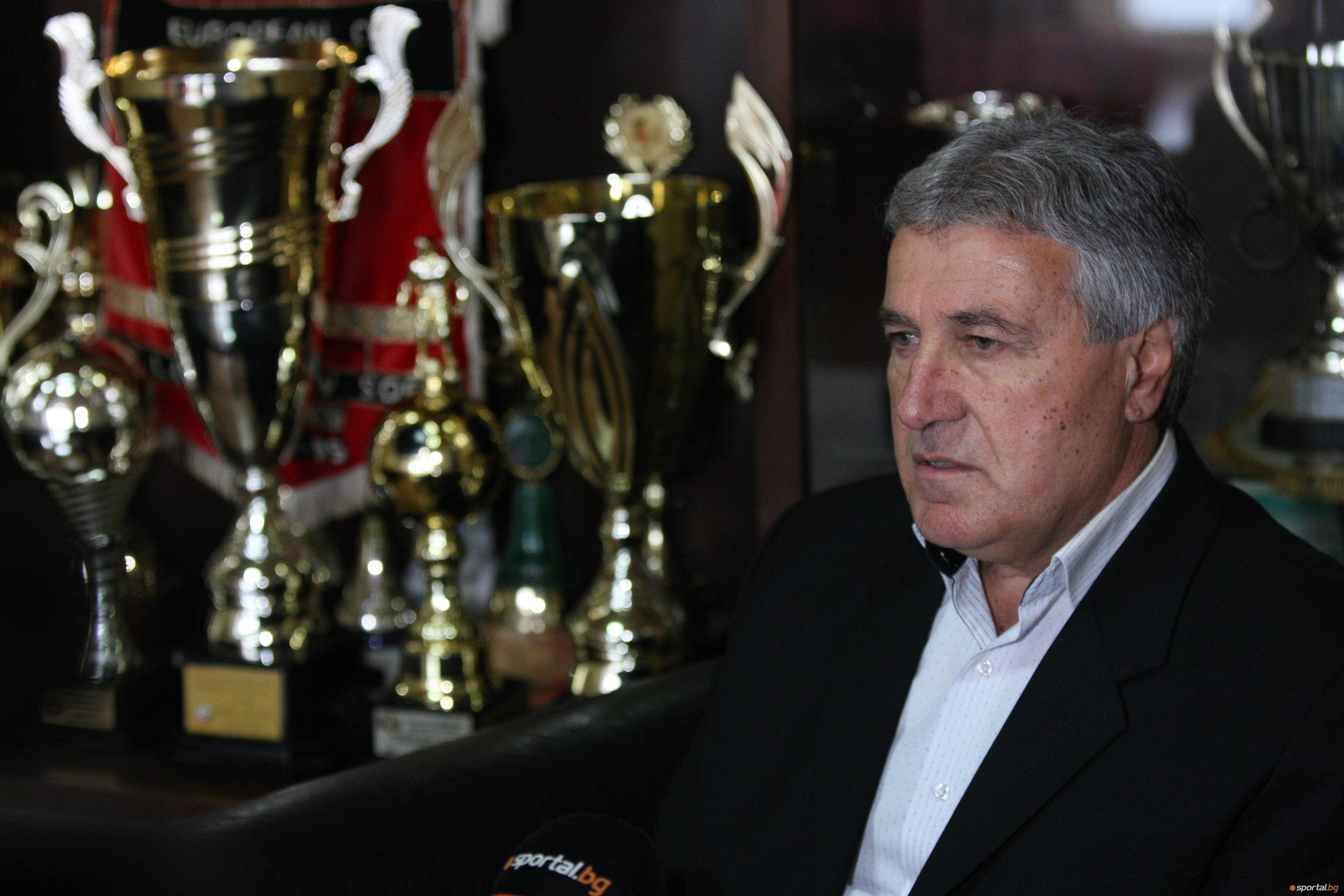 Изпълнителният директор на Локомотив (София) Бойчо Величков коментира предложението на