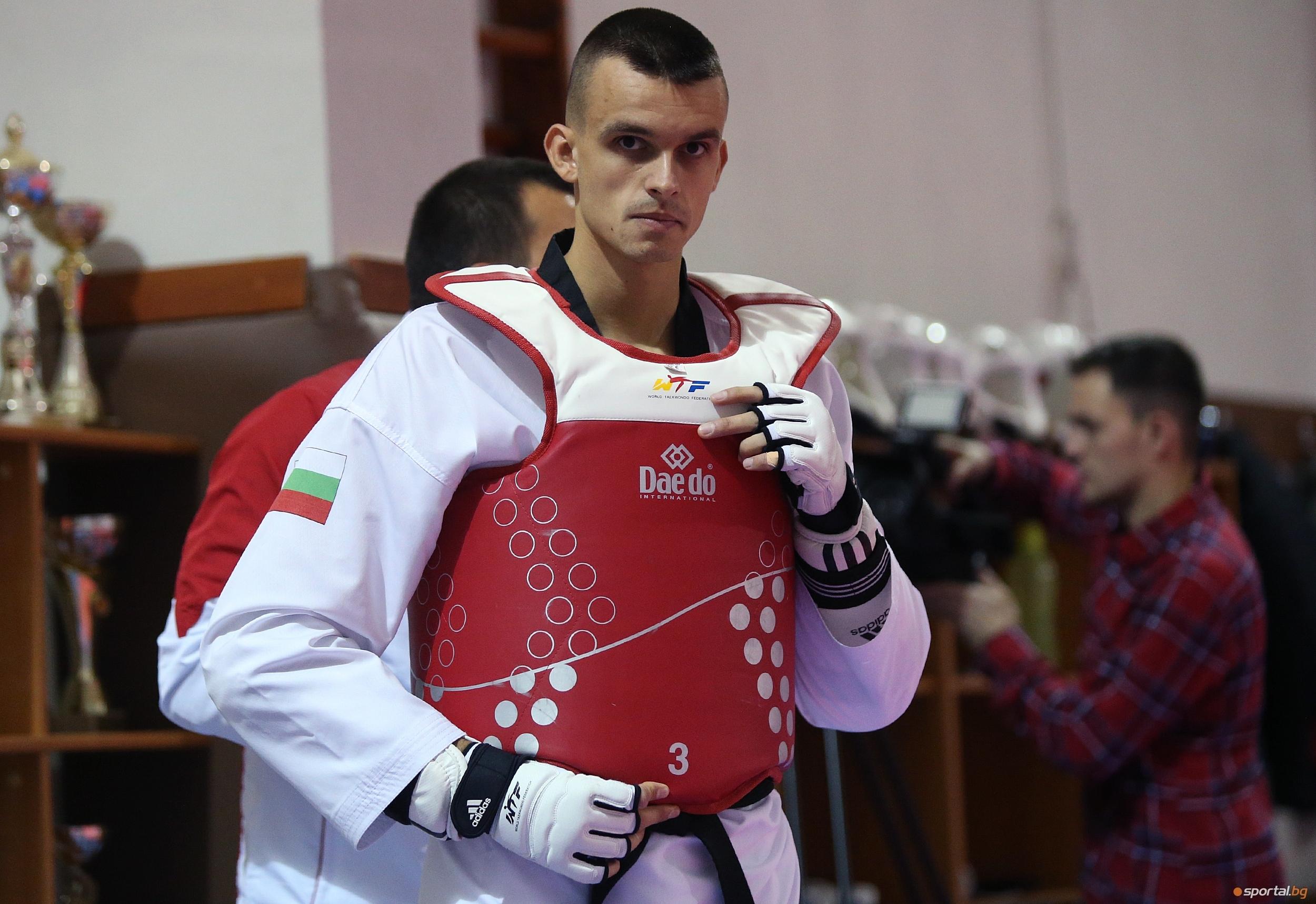 Световният медалист в таекуондото Владимир Далаклиев откликна на инициативата на