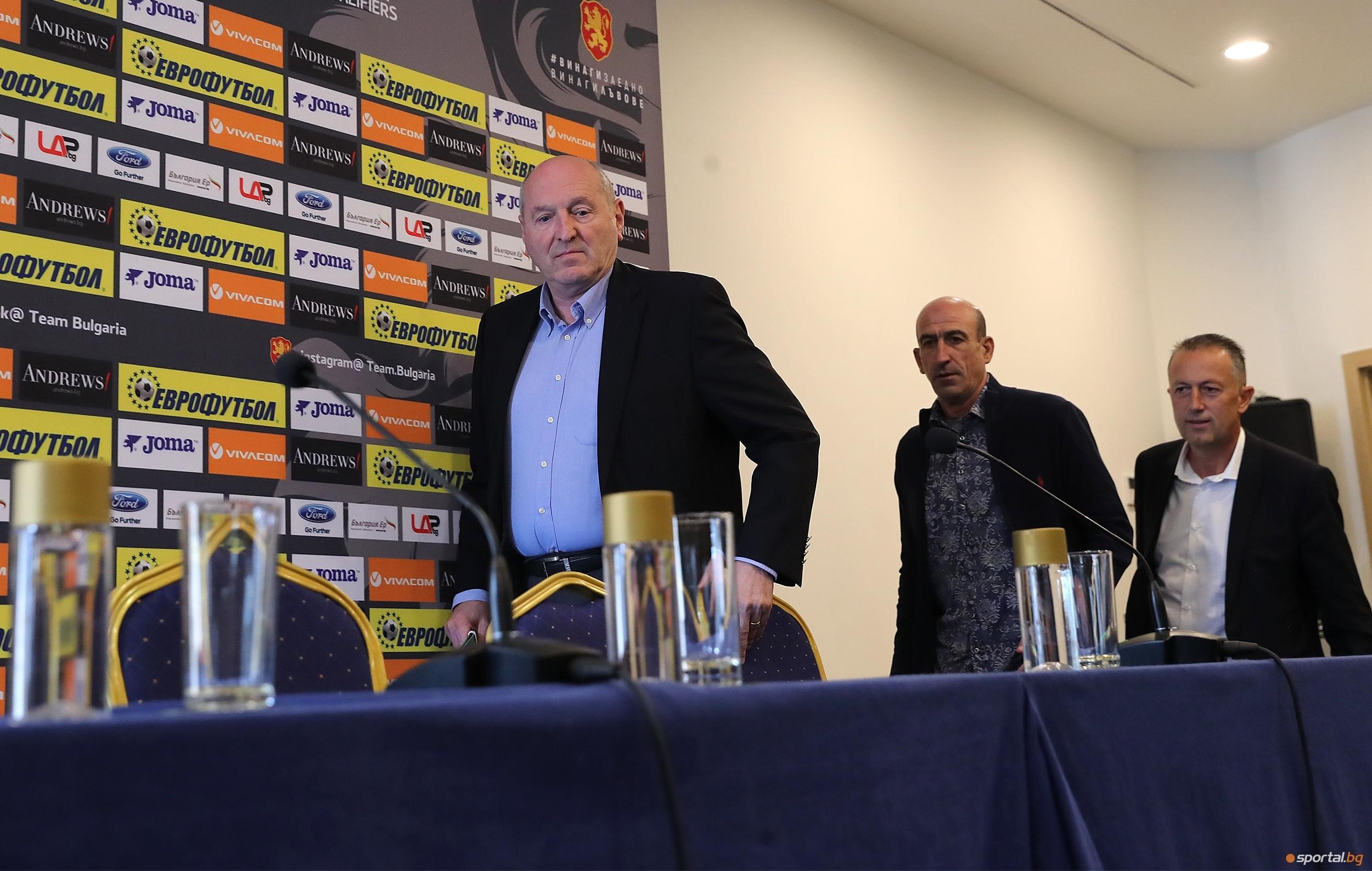 Президентът на Българския футболен съюз Михаил Касабов заяви, че УЕФА