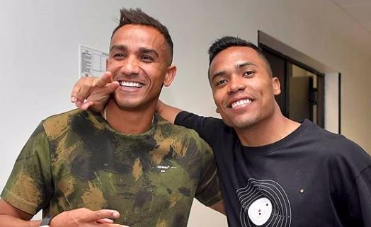 Футболистите на Ювентус Алекс Сандро и Данило получиха разрешение от