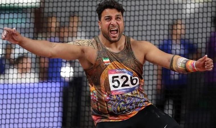Иранският състезател в дисциплината хвърляне на диск Ехсан Хадади е