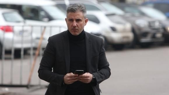 Изпълнителният директор на Левски Павел Колев използва профила си във