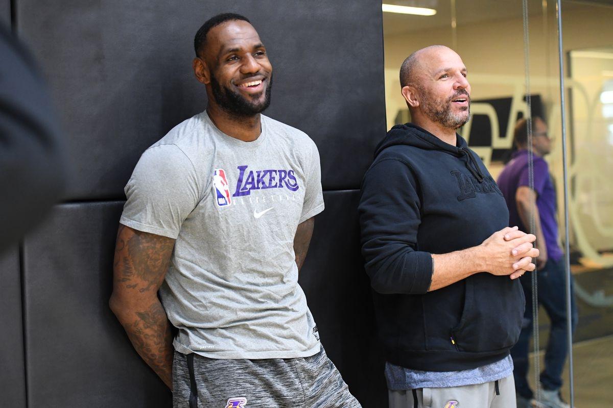Настоящият асистент треньор на Лос Анджелис Лейкърс Джейсън Кид попада