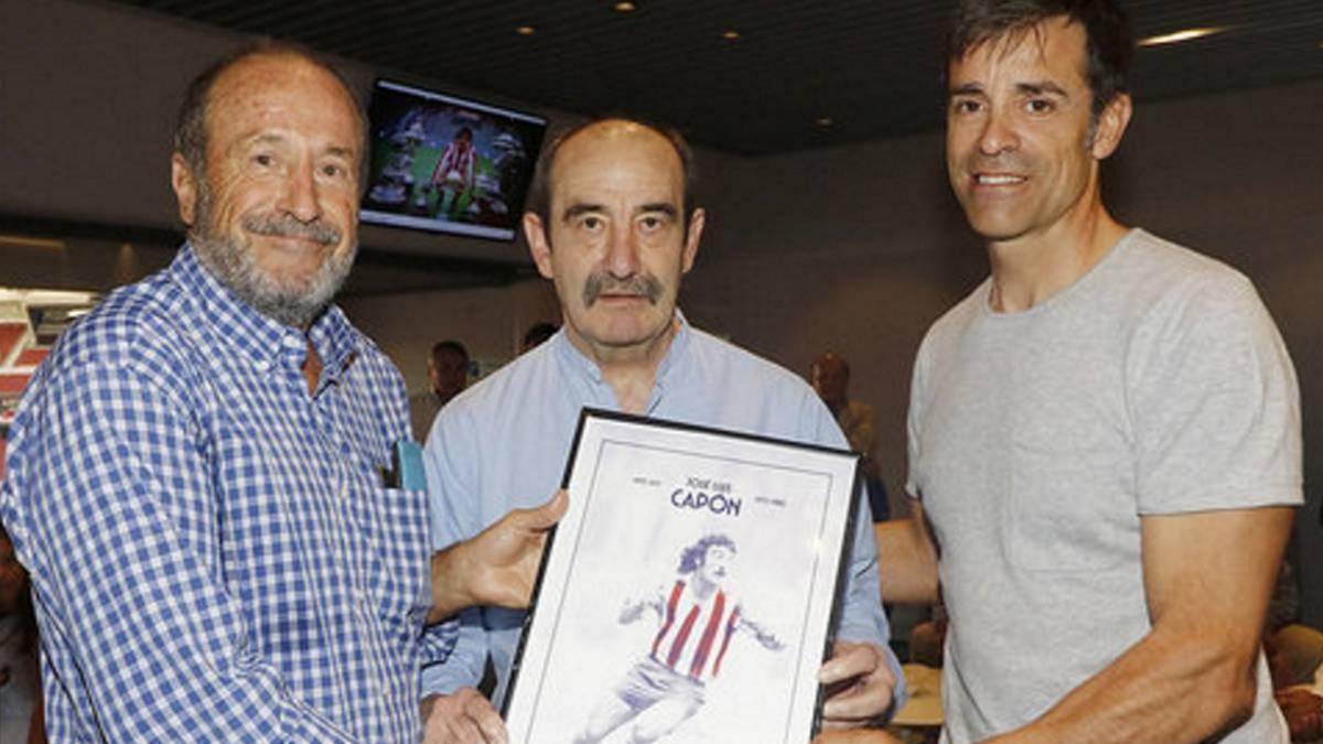Един от легендарните футболисти на Атлетико Мадрид - Хосе Луис