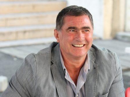 Президентът на Българска федерация лека атлетика Добромир Карамаринов говори пред