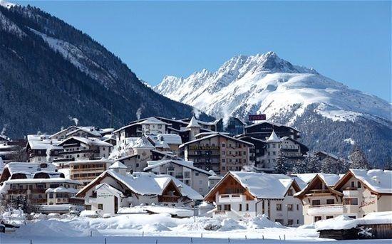 Наричат австрийското градче Ишгъл, разположено в сърцето на Тирол, рая