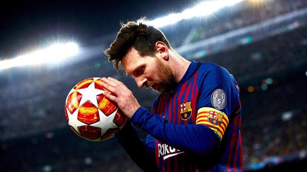 Капитанът на Барселона Лионел Меси отново използва профила си в