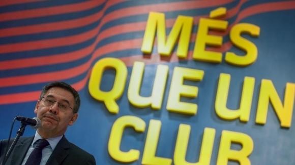 Минути след изявлението в социалните мрежи на футболистите на Барселона