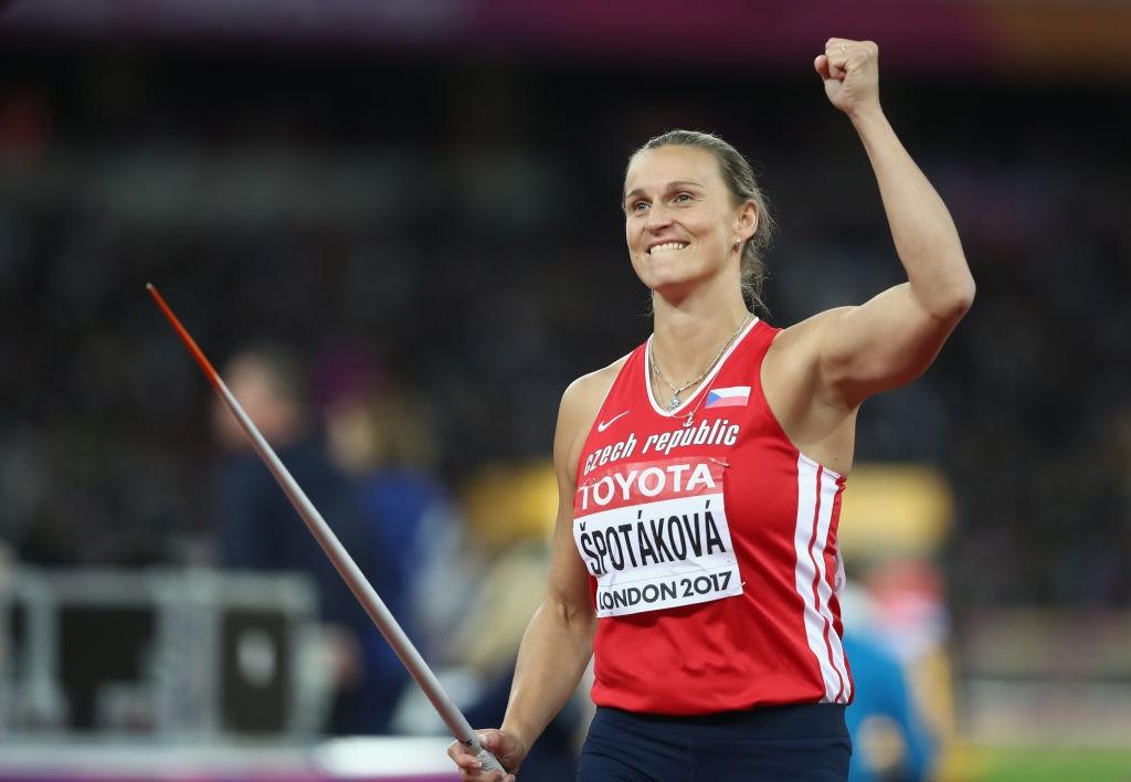Световната рекордьорка в хвърлянето на копие Барбора Шпотакова все още