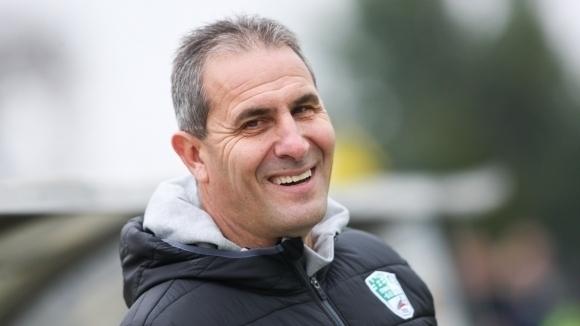 Старши треньорът на Берое Димитър Димитров – Херо потвърди желанието