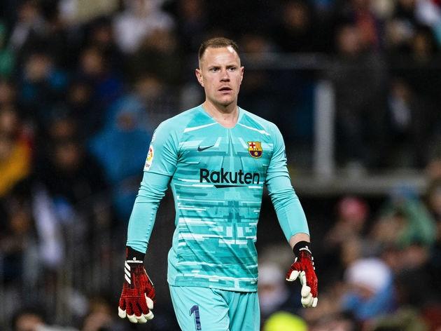 Вратарят на Барселона Марк-Андре тер Стеген прави всичко възможно да
