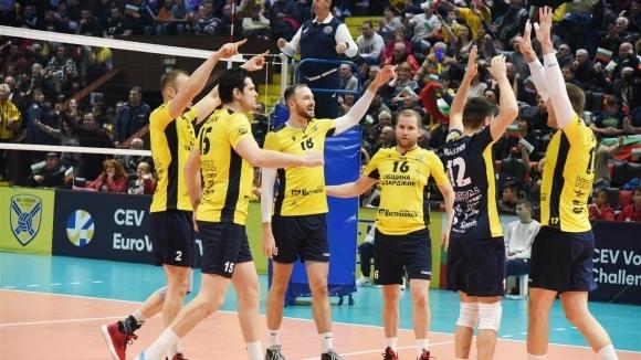 Волейболният отбор на Хебър Пазарджик публикува в страницата си във