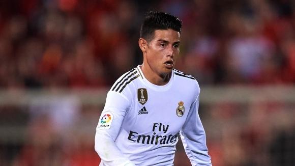 Халфът на Реал Мадрид Хамес Родригес има желание да премине