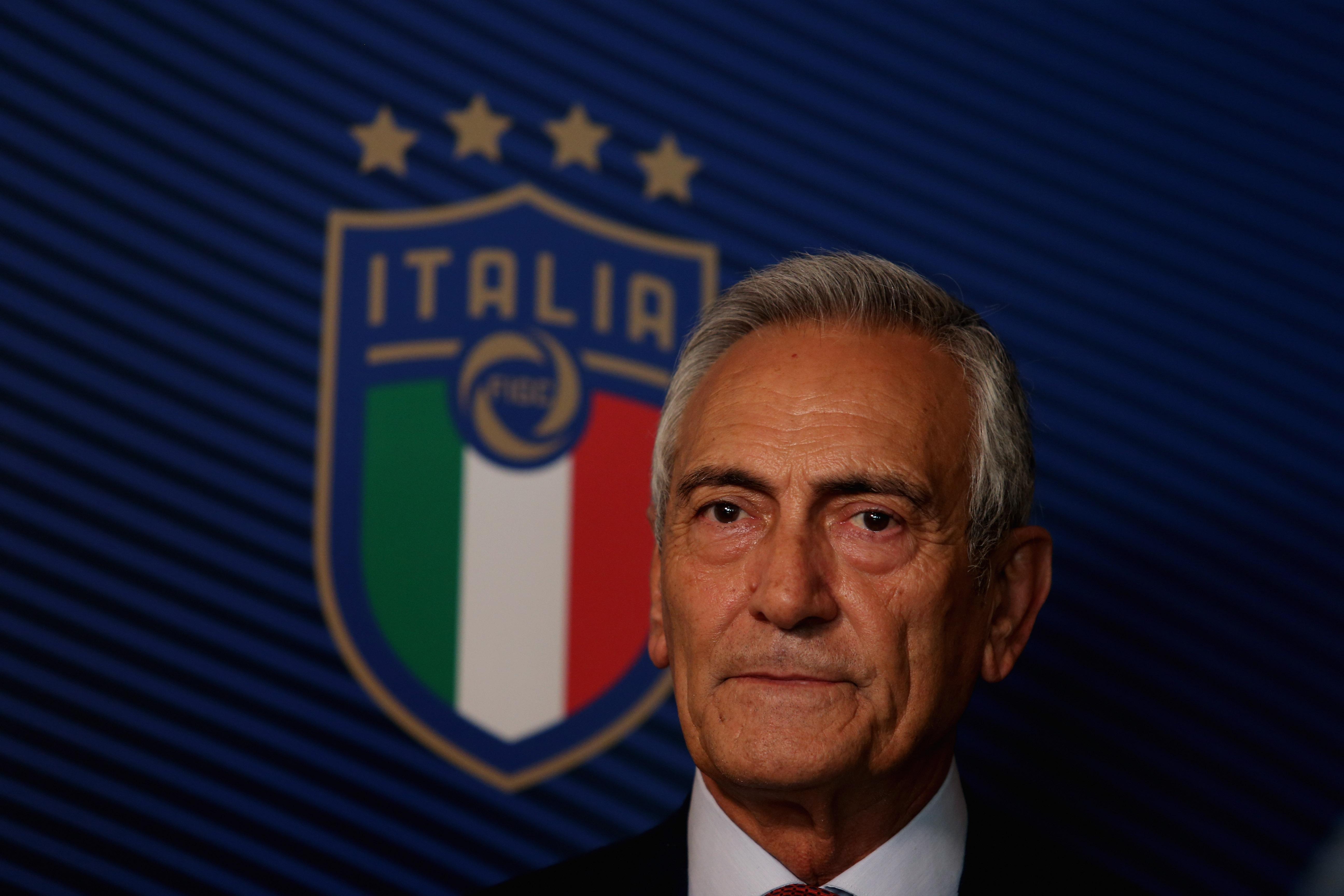 Президентът на Италианската футболна федерация Габриеле Гравина коментира какви са
