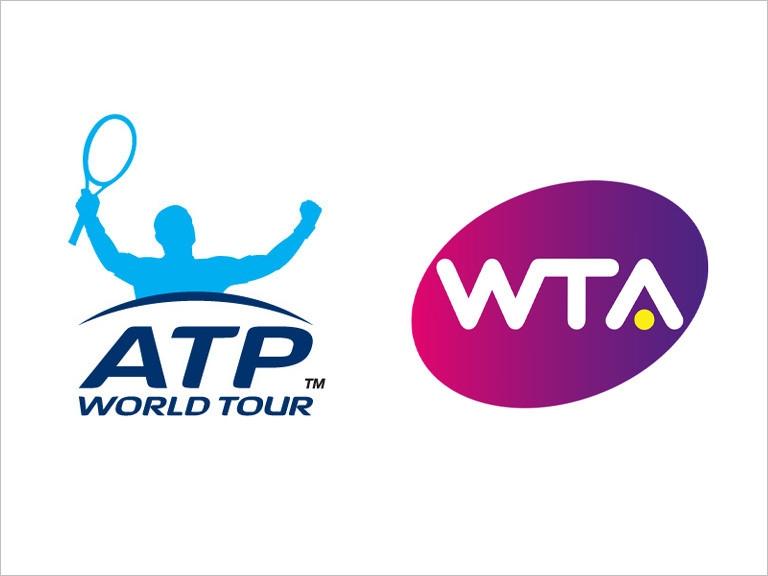 Асоциацията на професионалните тенисисти (ATP) и Женската тенис асоциация (WTA)
