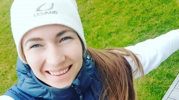 Четирикратната олимпийска шампионка в биатлона Дария Домрачова от Беларус даде