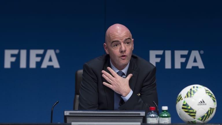 Президентът на ФИФА Джани Инфантино е убеден, че пандемията от
