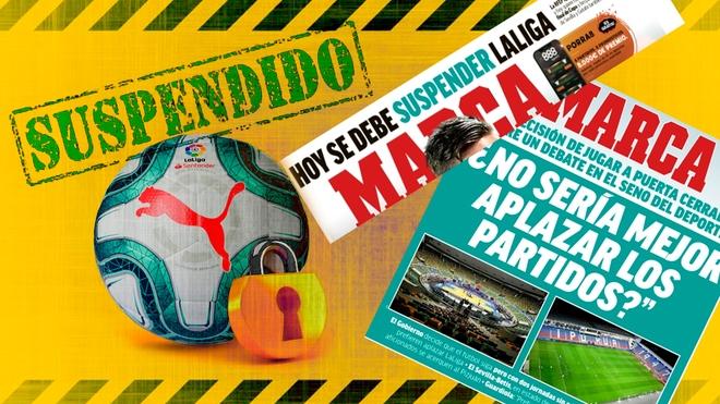 Испанската футболна лига подготвя детайлен план, по който да бъде