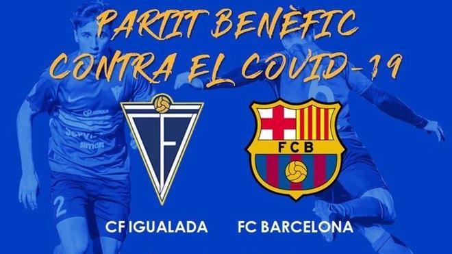 Отборът на Барселона ще изиграе приятелски мач с аматьорския каталунски