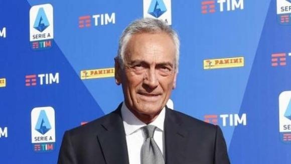 Президентът на футболната федерация на Италия Габриеле Гравина още веднъж