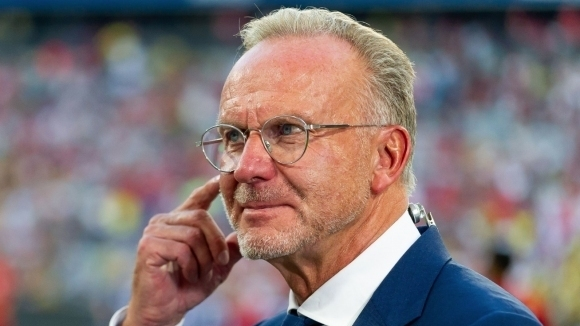 Изпълнителният директор на Байерн (Мюнхен) - Карл-Хайнц Румениге смята, че