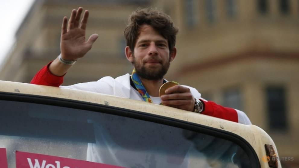 Олимпийският шампион по гребане Том Рансли от Великобритания обяви, че