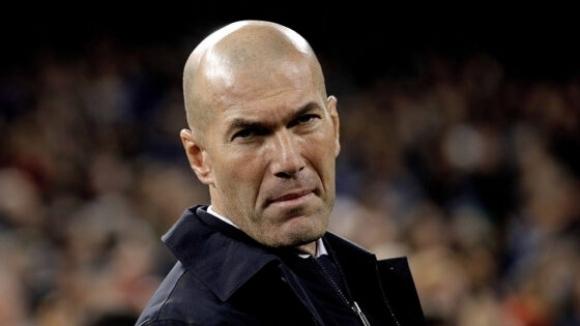 Старши треньорът на Реал Мадрид Зинедин Зидан е провел видеоконференция