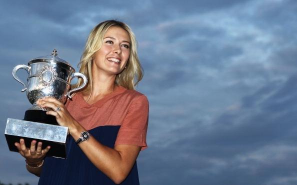 Обявилата неотдавна края на професионалната си тенис кариера Мария Шарапова