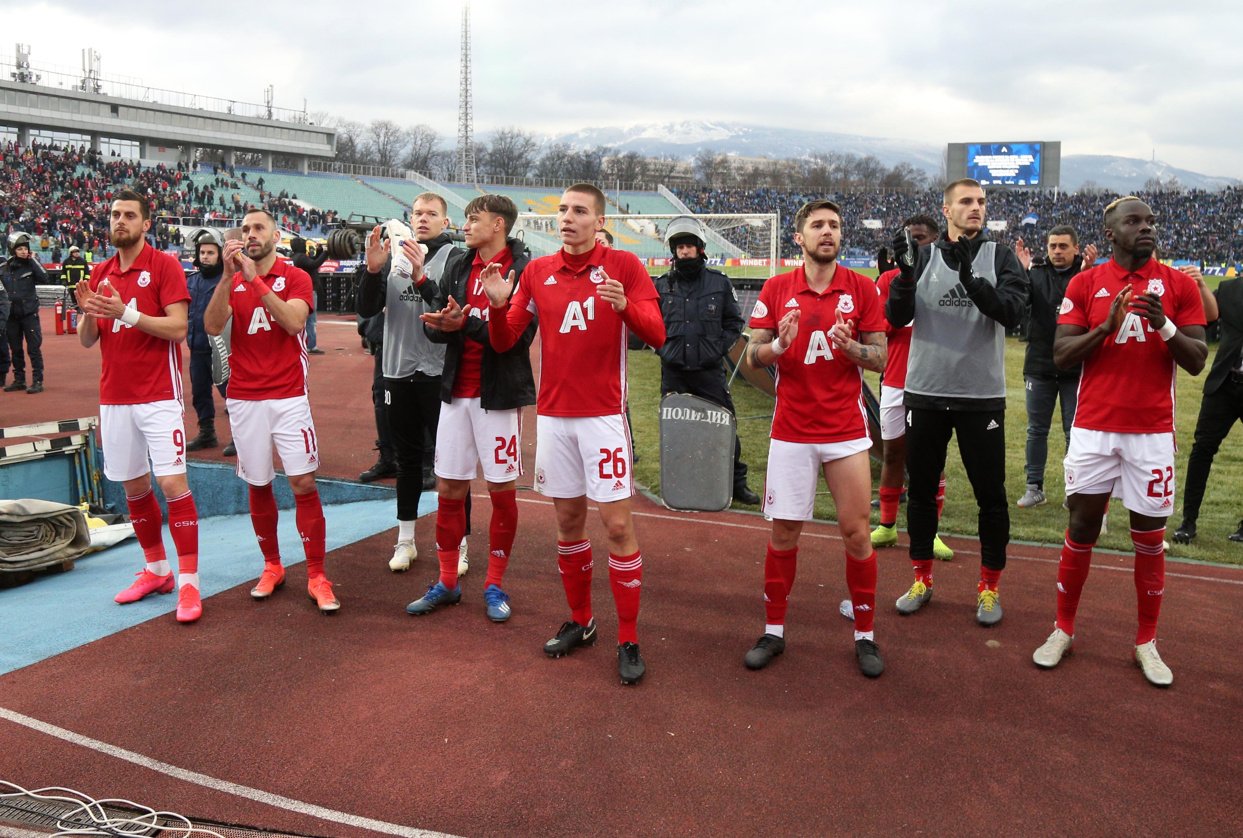 В ЦСКА-София обмислят намаляване на бюджета за заплати от следващия