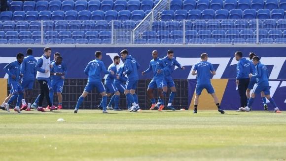 Треньорският щаб на Левски ще смени програмата за тренировки на