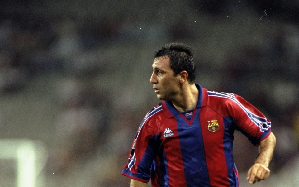 Българската легенда на Барселона Христо Стоичков попадна във фокуса на