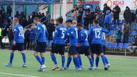 Отборът на Витебск постигна минимална победа с 1:0 при визитата