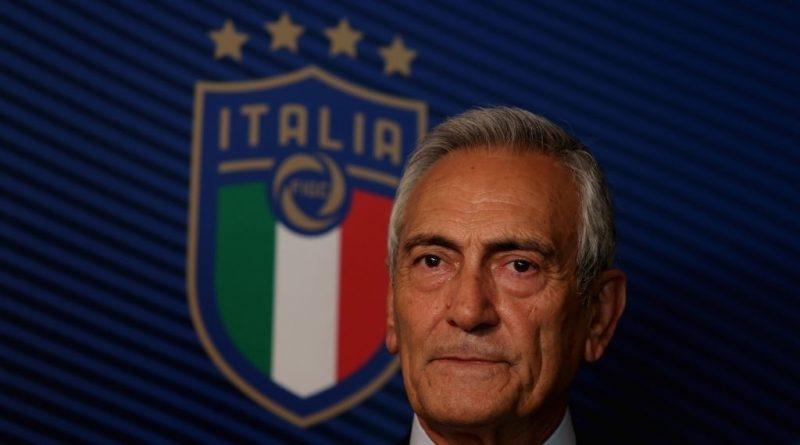 Президентът на Италианската футболна федерация Габриеле Гравина призна, че има