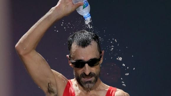 Испанският състезател в спортното ходене Хесус Анхел Гарсия създаде история