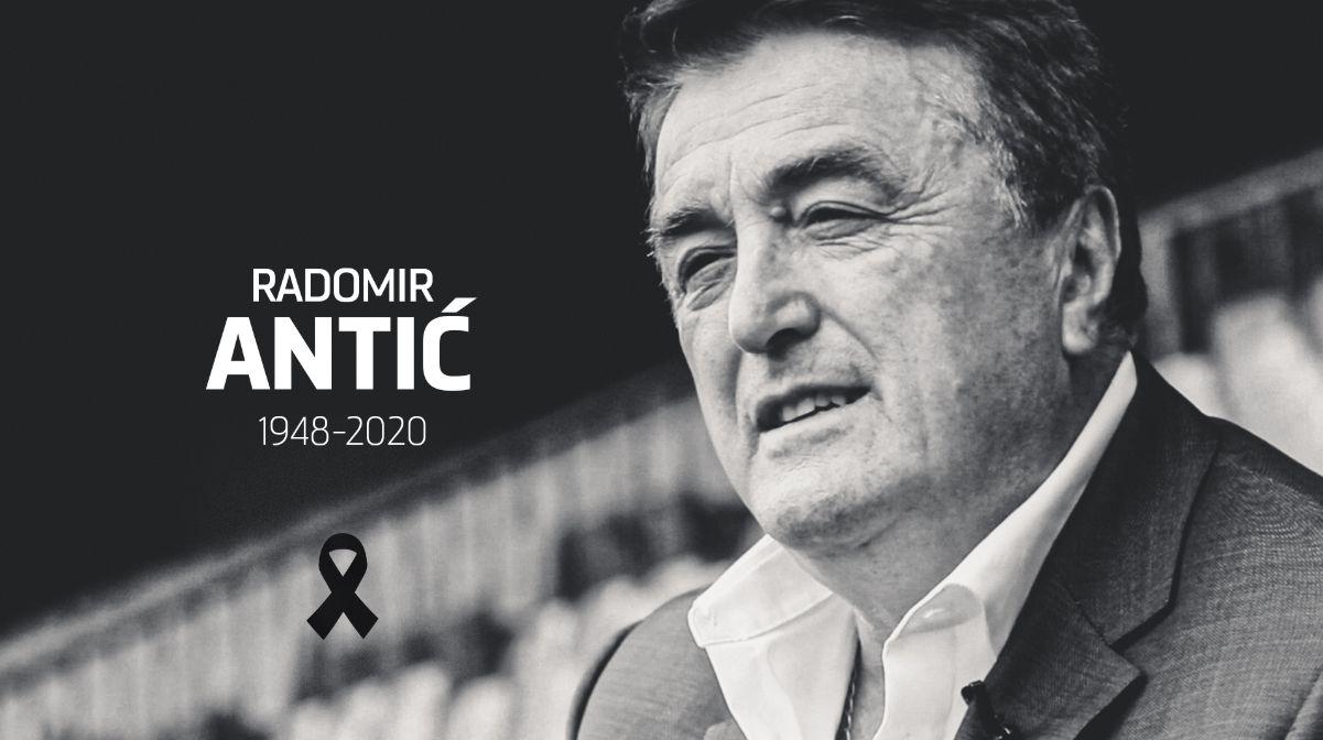 Легендарният сръбски треньор Радомир Антич е починал днес на 71-годишна