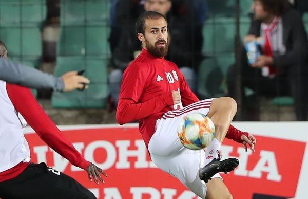 Халфът на ЦСКА-София Тиаго Родригес публикува снимка от своите тренировки