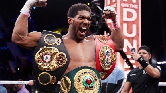 Световният шампион на IBF, IBO, WBA и WBO Антъни Джошуа