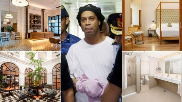След като вчера бразилската легенда Роналдиньо беше освободен от затвора
