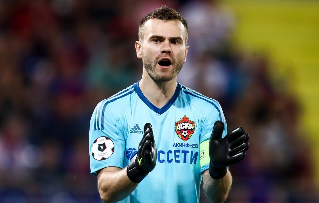Капитанът на ЦСКА (Москва) Игор Акинфеев е имал ключова роля