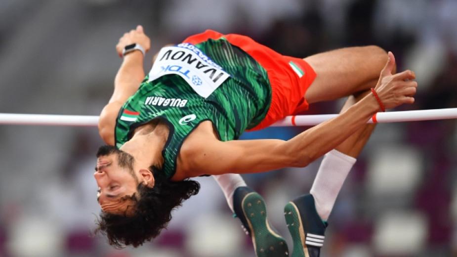Най-добрият български състезател на скок височина Тихомир Иванов се е