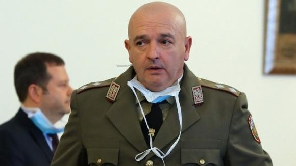 Шефът на Националния кризисен щаб генерал Мутафчийски се обърна с