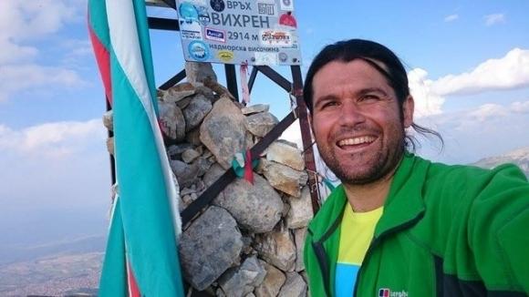 Един от най-успешните български алпинисти Атанас Скатов в момента трябваше
