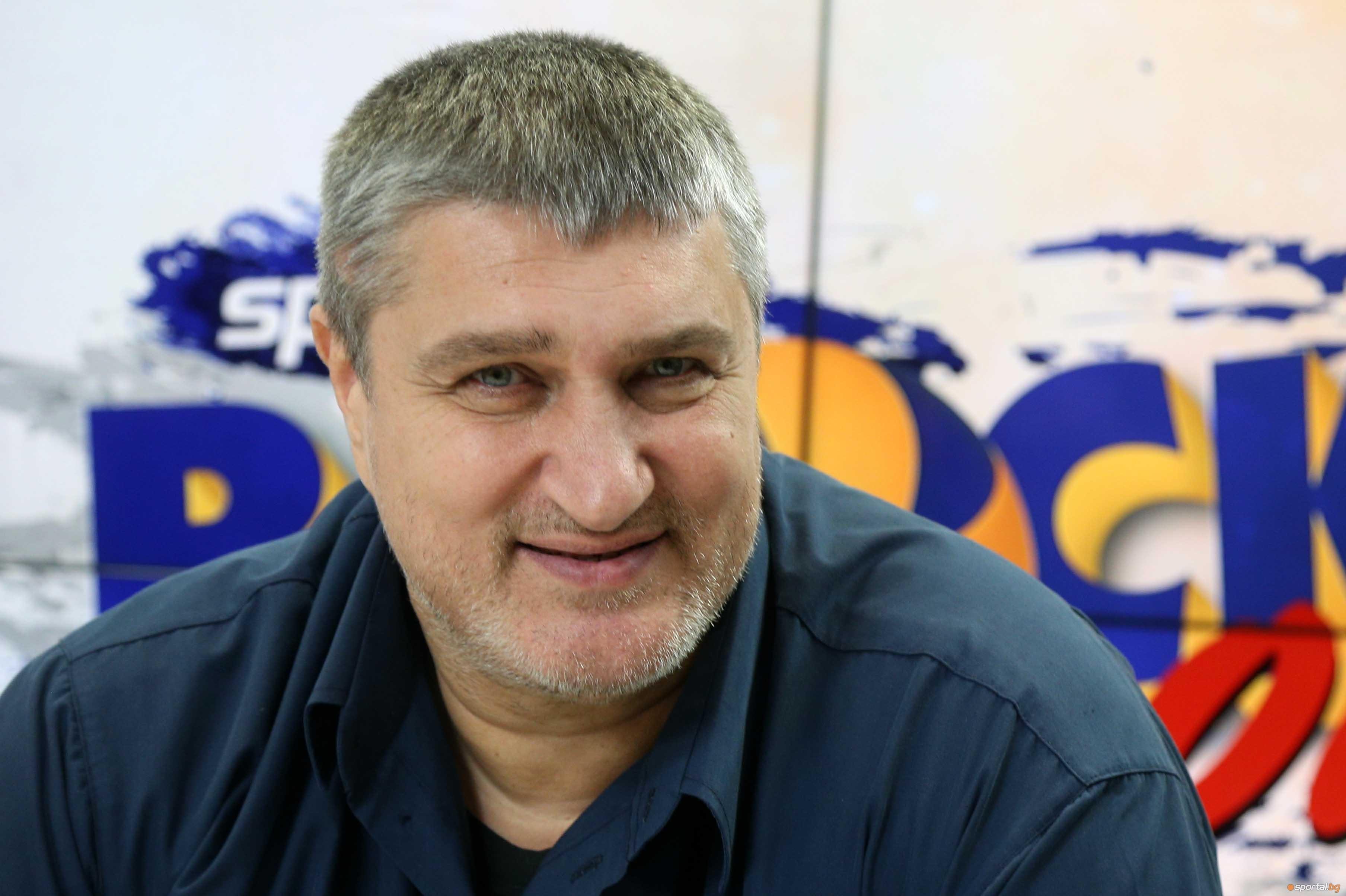 Новият шеф на Българската федерация по волейбол Любо Ганев бе