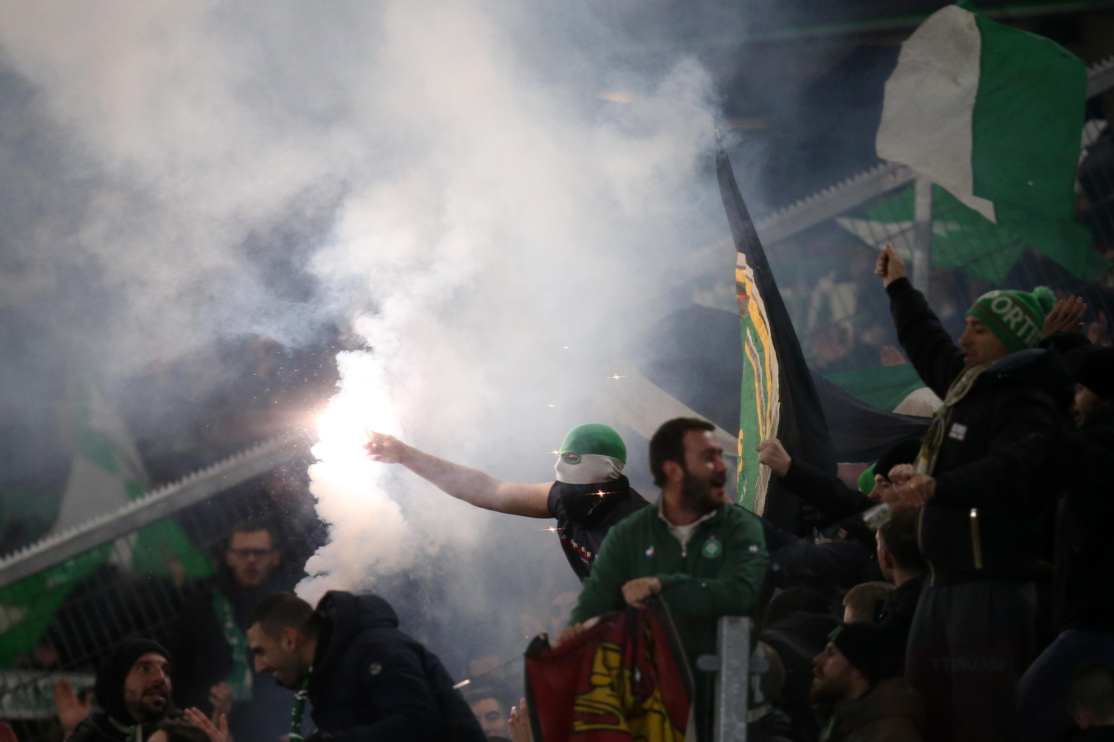 Сент Етиен, чийто финал за Купата на Франция срещу Пари