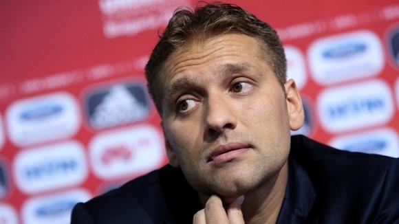 Бившият капитан на националния отбор на България - Стилиян Петров,
