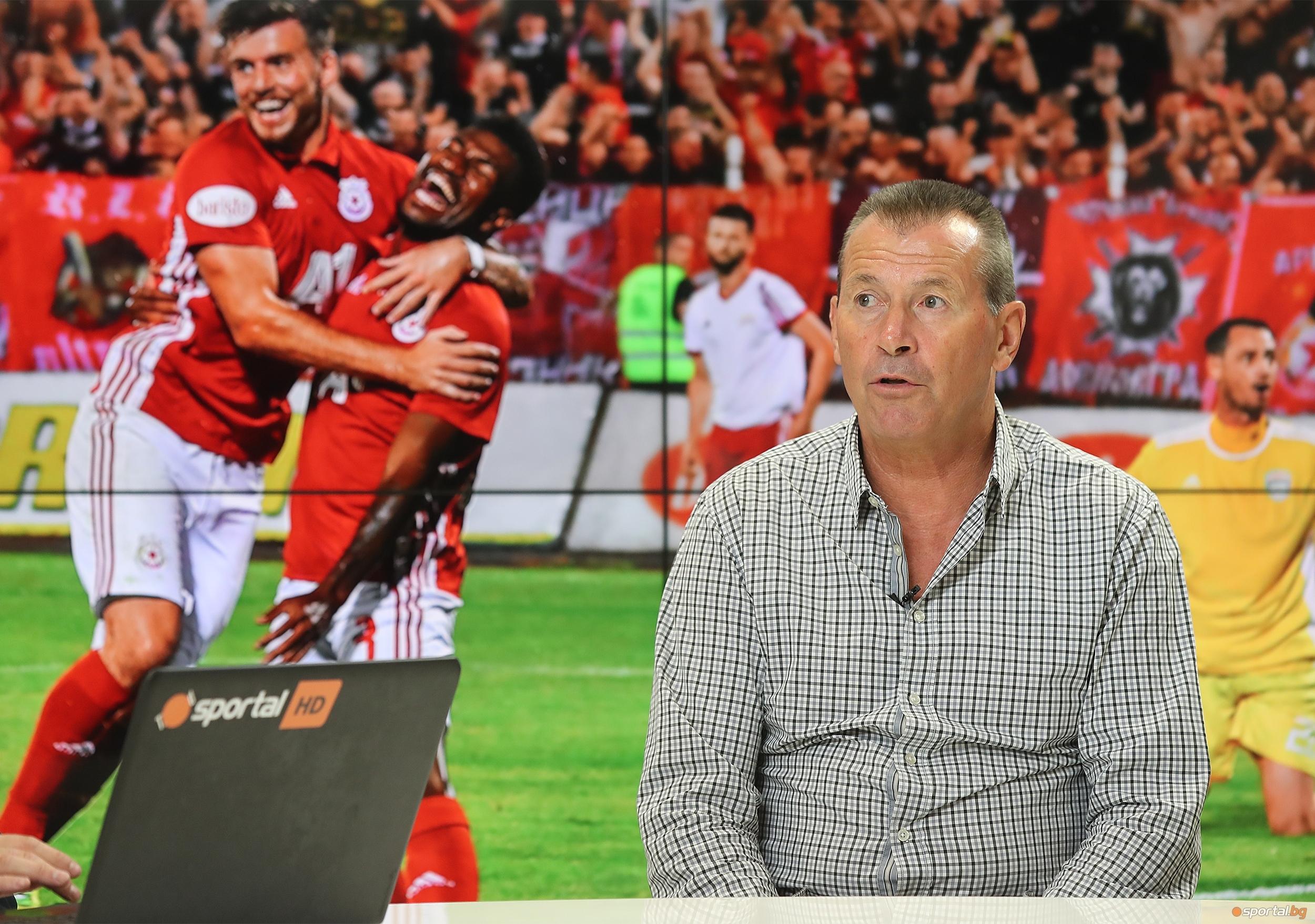 Бившият полузащитник и изпълнителен директор на ЦСКА Георги Илиев коментира