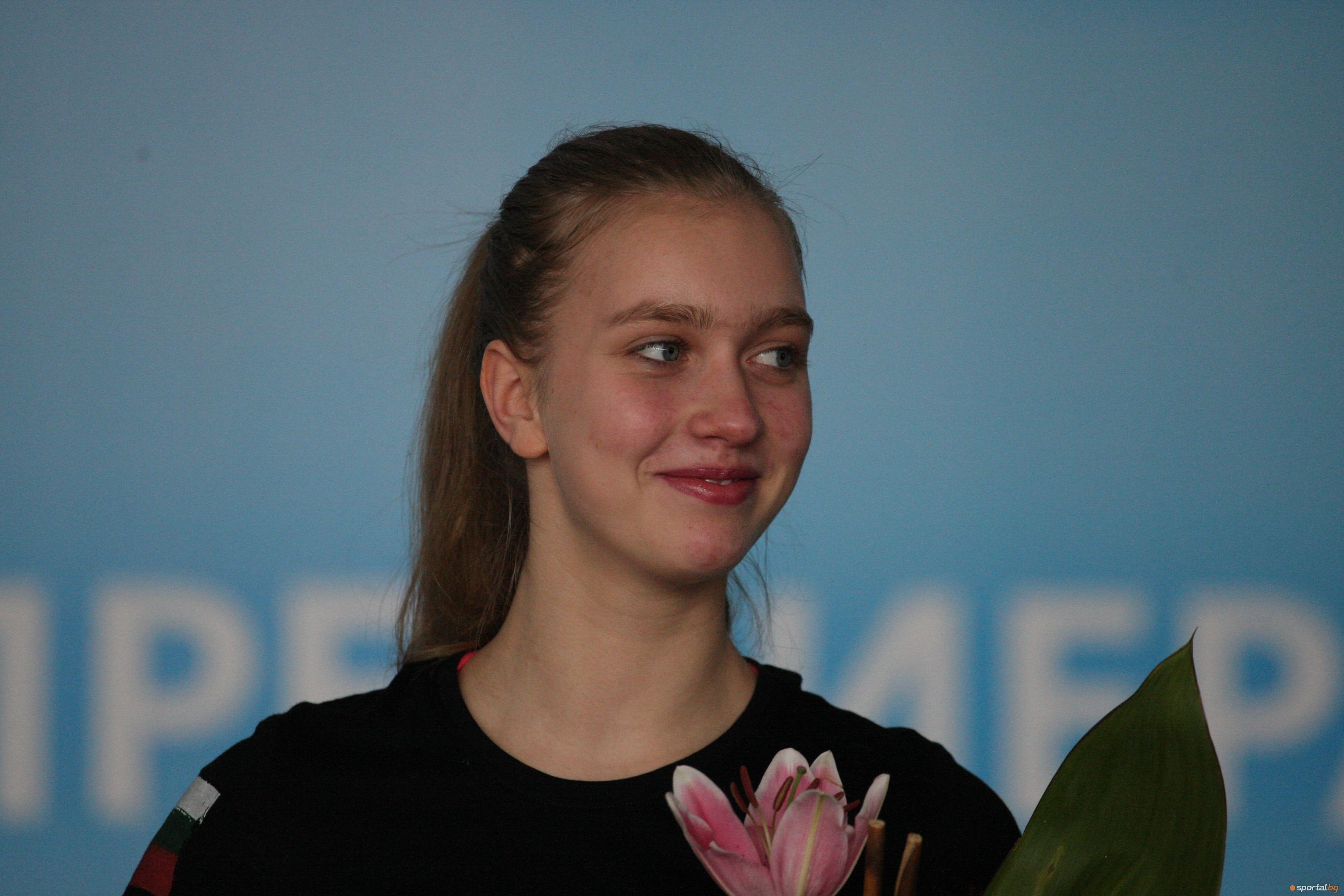 Най-добрата българска състезателка Александра Фейгин заема 28-о място в световната