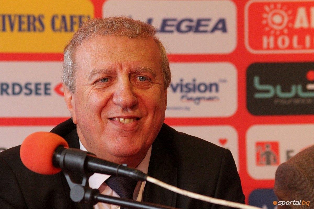 Бившият президент на ЦСКА Александър Томов, под чието управление е