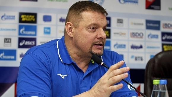Старши треньорът на руския волейболен гранд Зенит (Казан) Владимир Алекно