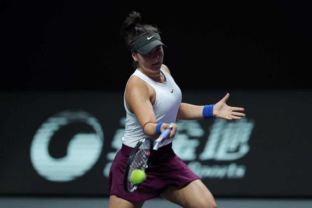 Шампионката от Откритото първенство на САЩ по тенис Бианка Андрееску